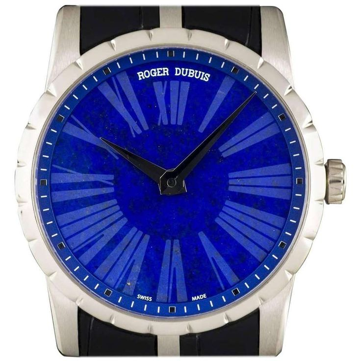 Roger Dubuis White Gold Lapis Lazuli Dial Excalibur Limited Edition Watch 1