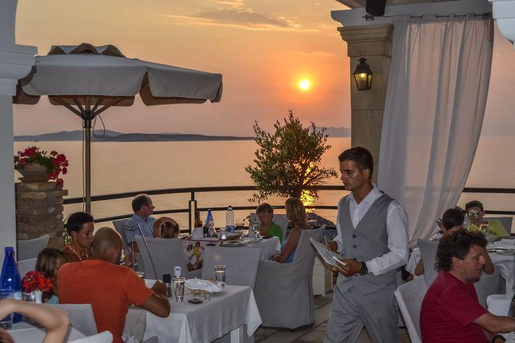 Romantic dining at Kohili #restaurant. #DelfinoBlu #sunset