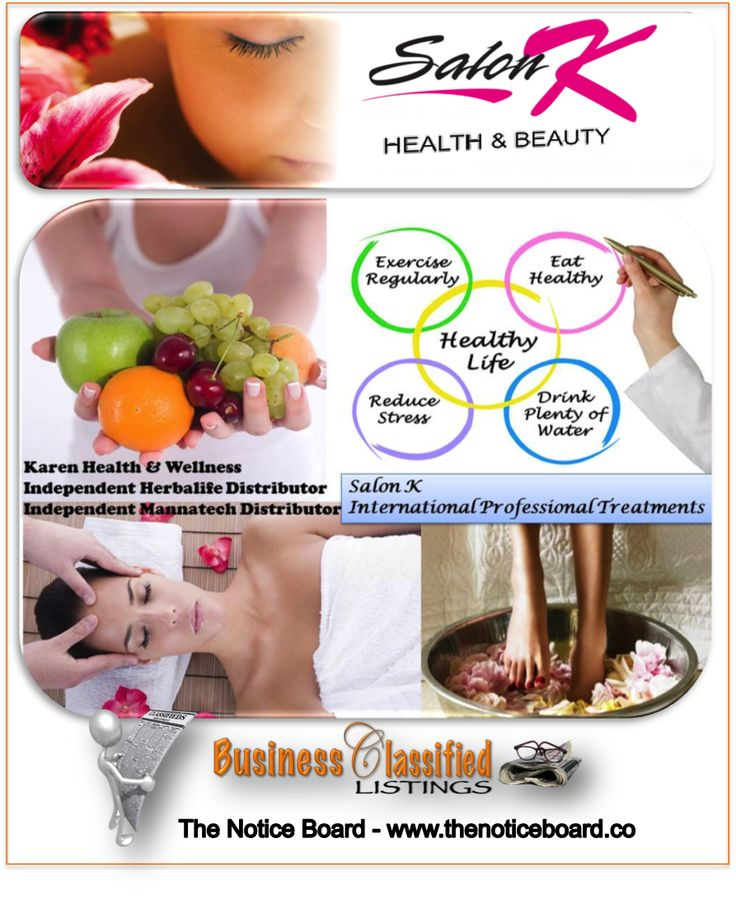 We provide health conscious people with natural skincare nutritional products of the highest standard, which is not harmful to body, through professional treatments in a state of the art salon with extended hours. http://www.thenoticeboard.co/classified-gauteng/salon-k
