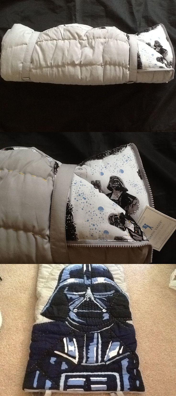 Sleeping Bags 48091: Pottery Barn Kids Star Wars Darth Vader Sleeping Bag Gray Navy New -> BUY IT NOW ONLY: $89 on eBay!