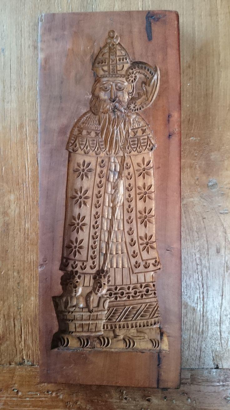 oude Sinterklaas uit Duitsland - old St Nicholas from Germany - alte St Nikolaus aus Deutschland