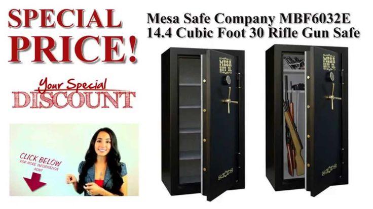BEST OFFERS/PRICE - Mesa Safe Company MBF6032E 14.4 Cubic Foot 30 Rifle Gun Safe with Digital Lock #mesasafecompany #riflegunsafe