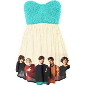 one direction dress! I don't normally wear dresses but I would wear this!!! (has to have straps or a sweater)