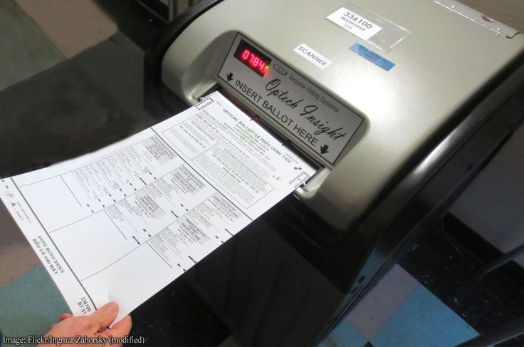 Electronic voting is not transparent. It use proprietary, closed-source software. Bring back paper ballots https://www.aclu.org/blog/free-future/transparency-solution-shameful-lack-security-us-voting-systems-revealed-nsa-leak