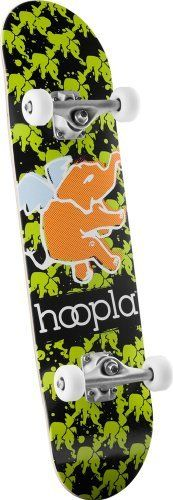 hoopla Multi Elephant Assembly Skateboards (7.625-Inch) by hoopla skateboards. $27.74. hoopla Skateboards comes from the same home as Powell Skateboards and Bones Bearings, so you know you are getting the highest possible quality equipment.