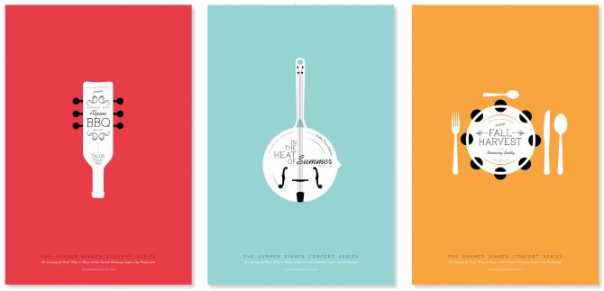 Dinner Concert Poster Series «