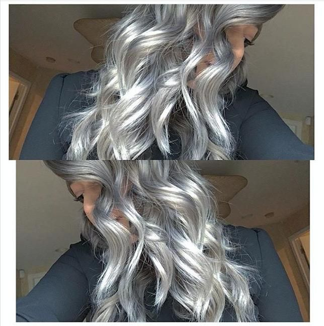 Work By Paigeelainestyles On Instagram She Used Kenracolor Silver Metallics To Create This
