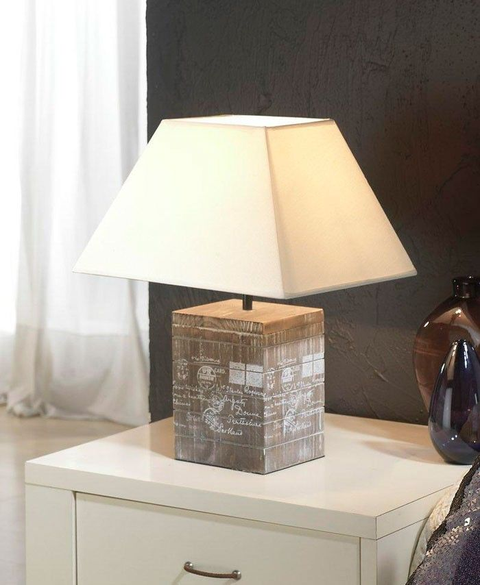 Mejores 17 im genes de l mparas madera en pinterest for Fotos de lamparas de mesa