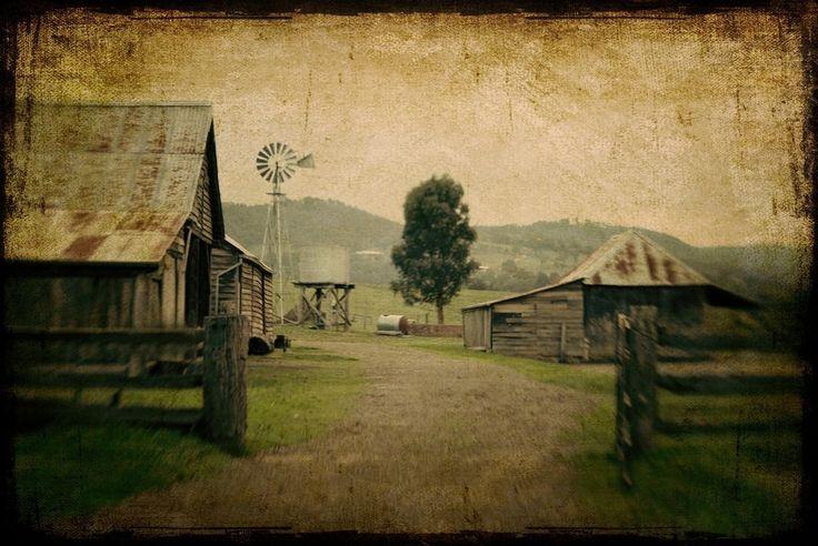 Set of 3 - Fine Art Print 8x10 -  Australian Landscape Series - Country Hearts