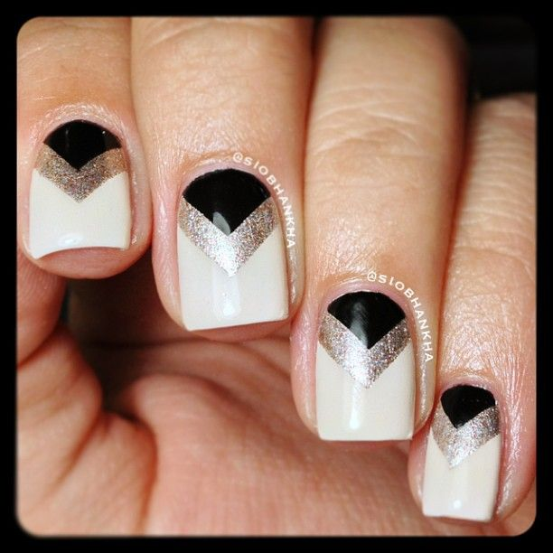 Best 25 1920s nails ideas on pinterest gatsby hair flapper instagram photo by siobhankha nail nails nailart prinsesfo Choice Image