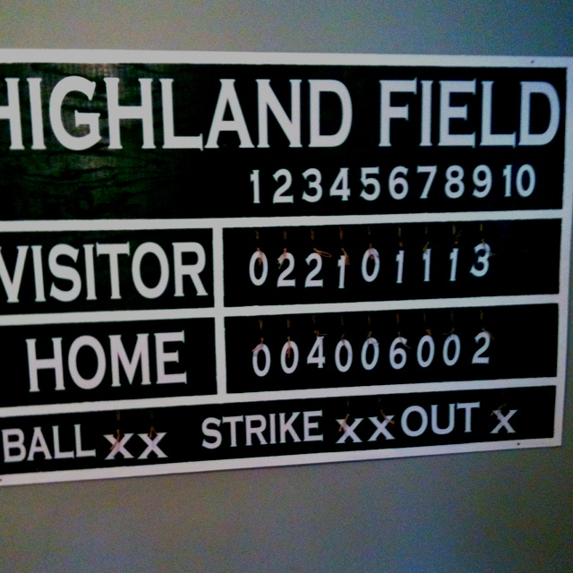 A First Birthday Gift My Husband Made For Our Son Ryan Handmade Baseball ScoreboardRec RoomsKids