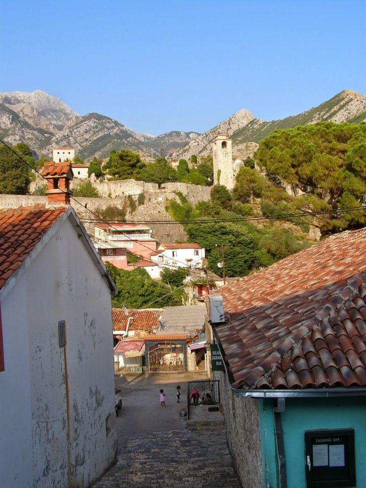 naznaczone kolorem: Czarnogóra, Stary Bar Stari grad Bar | Old Town Bar