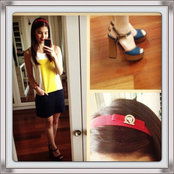 .@primadonnaph | Spotted @La Farme / Anne Curtis-Smith wearing Primadonna Shoes for Itu0026#39;s ...
