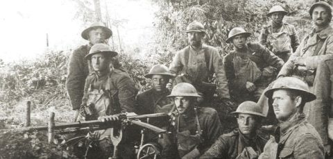Marines, Battle of Belleau Wood, June 1918