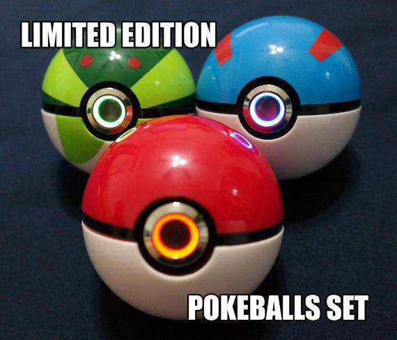 Pokemon Pokeball Toy Mod (Colored Ring LIMITED EDITION SET)