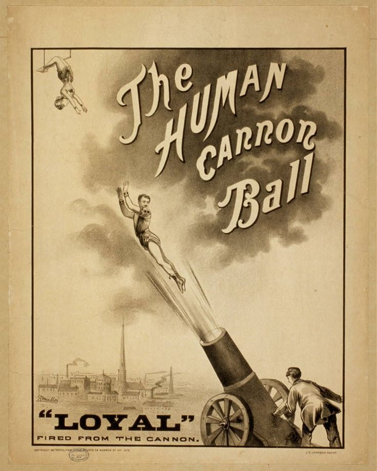 Vintage Circus Posters Part 2 | Experiments and Accidents