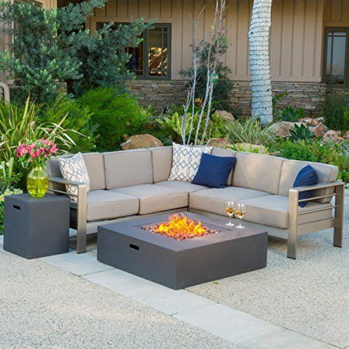 christopher knight home 299881 crested bay outdoor aluminum rh pinterest com