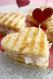 Heart sandwiches