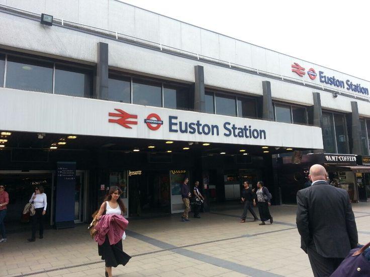 Euston London Underground Station in Euston, Greater London