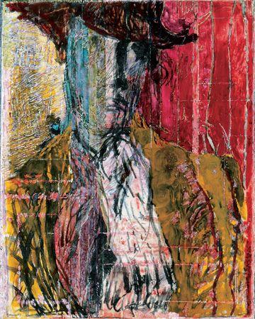 Ilka Gedő, 'Pink Self Portrait', 1983