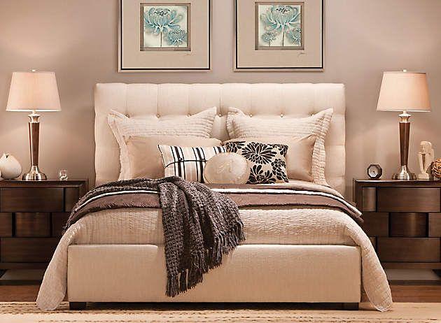 Dana Queen Bed | Cozy, Queen beds and Organizations
