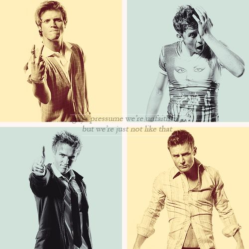 McFly. Dougie, Danny, Tom and Harry