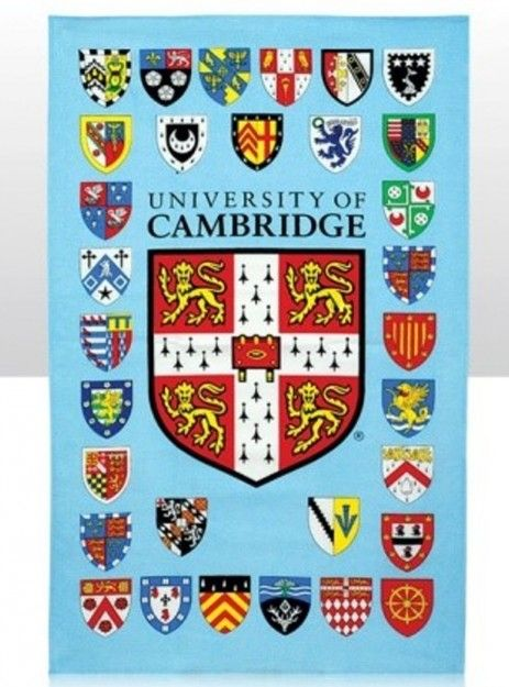 The University shield and the shields of all 31 affiliated colleges