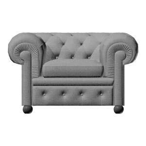 Chester Armchair Light Grey