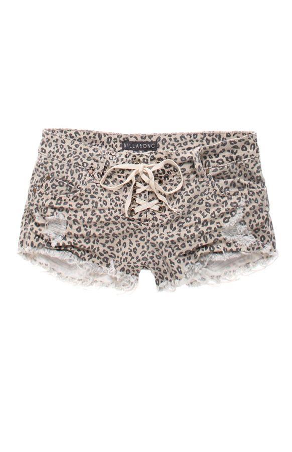 Lite Hearted Cheetah Shorts