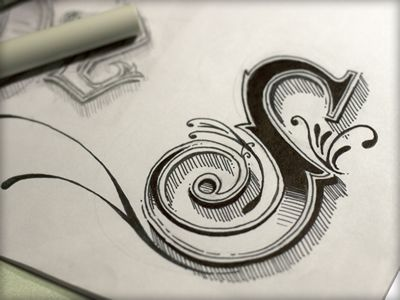 Abstract Lettering in Written Typography (great examples)