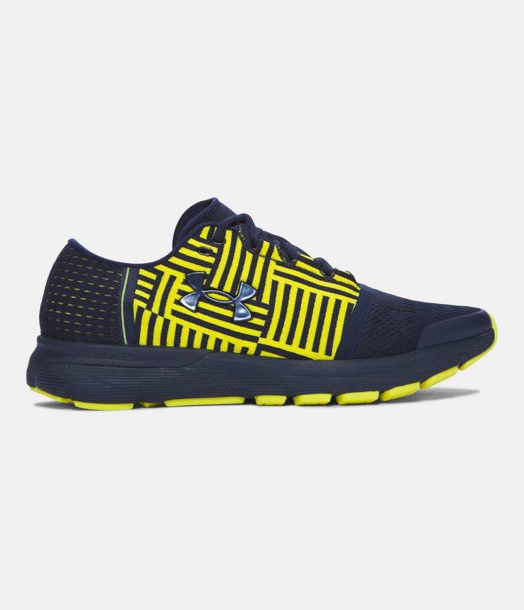 Men's NFL Combine Authentic UA SpeedForm® Gemini 3 Running Shoes, Cadet, zoomed image