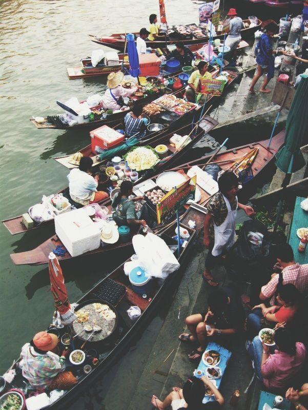 Floating Market, Chiang Mai, Thailand