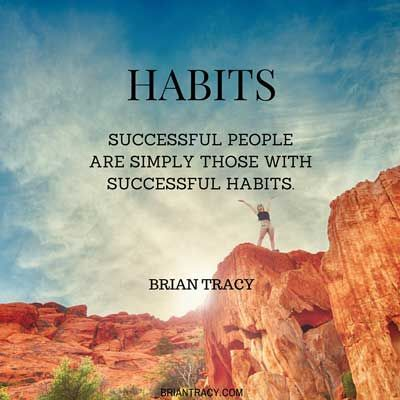 Successful people maintain good habits and are consistently goal oriented. Brian Tracy discusses how you can change your habits and transform your life.