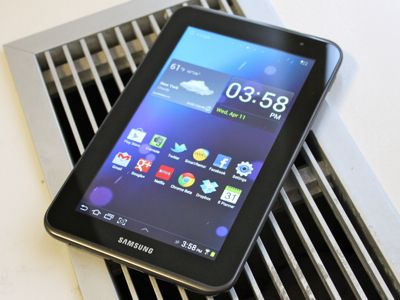 Samsung Has A Tablet That's Better Than The Kindle Fire [GALAXY TAB 2 REVIEW]