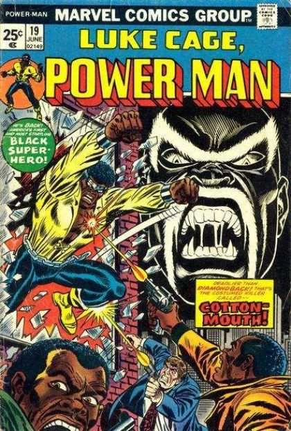 Power Man | Luke Cage: Power Man #19 via | buy on eBay | add