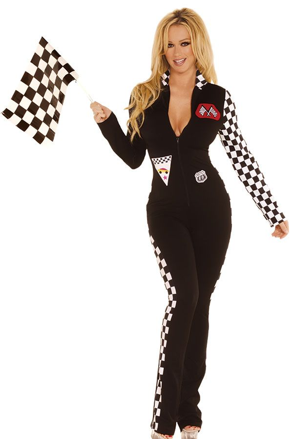 Sexy Race Car Driver #Halloween Costume