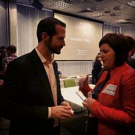 Gary Whitehill - is the founder Entrepreneur Week - we've met in Inkubator Starter in Gdańsk,  Poland