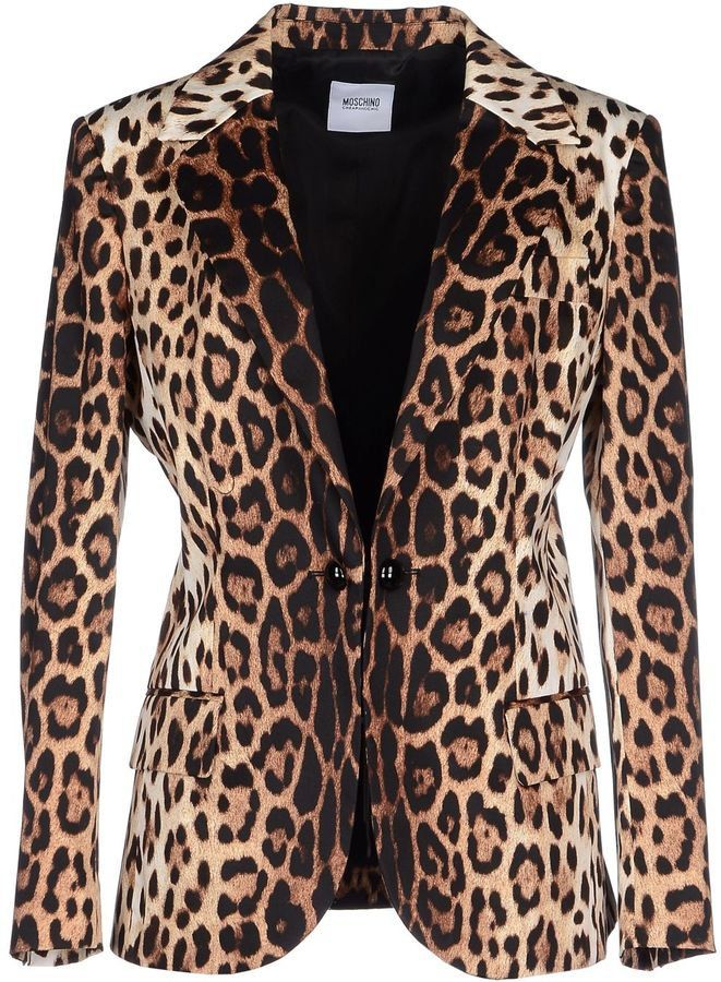 Pin for Later: The Jackets Every Woman Should Have in Her Closet  Moschino Cheap & Chic Leopard Blazer ($476)