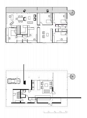 Garden Landscape Design Ideas moreover Long House Design Modern in addition Harry Seidler besides 2 Story Pool House Design besides H Shaped Houses Plans. on mid century modern house design for pool