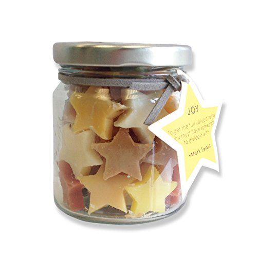 Spa Life Soaps In A Jar - Joy - Assorted Scents - Natural Cold Process Mini Soaps (See Theme Options)