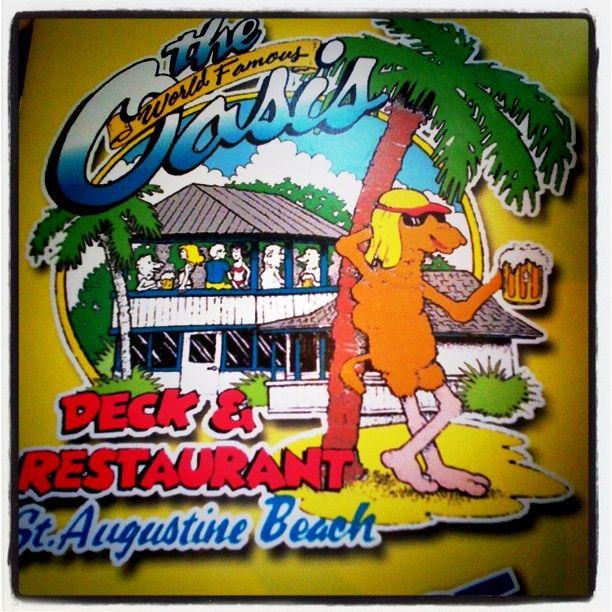 World Famous Oasis Restaurant in St. Augustine, FL