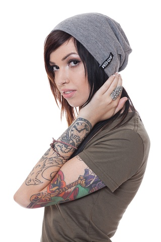 Anthem Made beanie  I bought one in this color, then my aunt also bought me one of these. Gonna have to send one back.