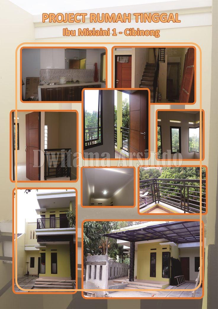 Proyek Rumah Tinggal di daerah Cibinong - Bogor. Dwisindo membantu anda secara menyeluruh dan terpadu baik dibidang jasa maupun produk arsitektur dan interior. Mulai dari desain, kontruksi, sampai menyediakan furniture yang kami produksi sendiri dari bahan material terpilih.                                                          Hubungi kami : 021- 29360754 / HP. 082225631448 Head Office : Jl. Kramat Asem No. 34, Matraman – Jakarta Timur 13120 FAX 021 - 29360751