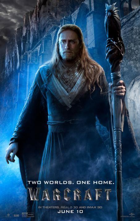Ben Foster Medivh | Warcraft, le film : Des posters pour les mages du film | MCM