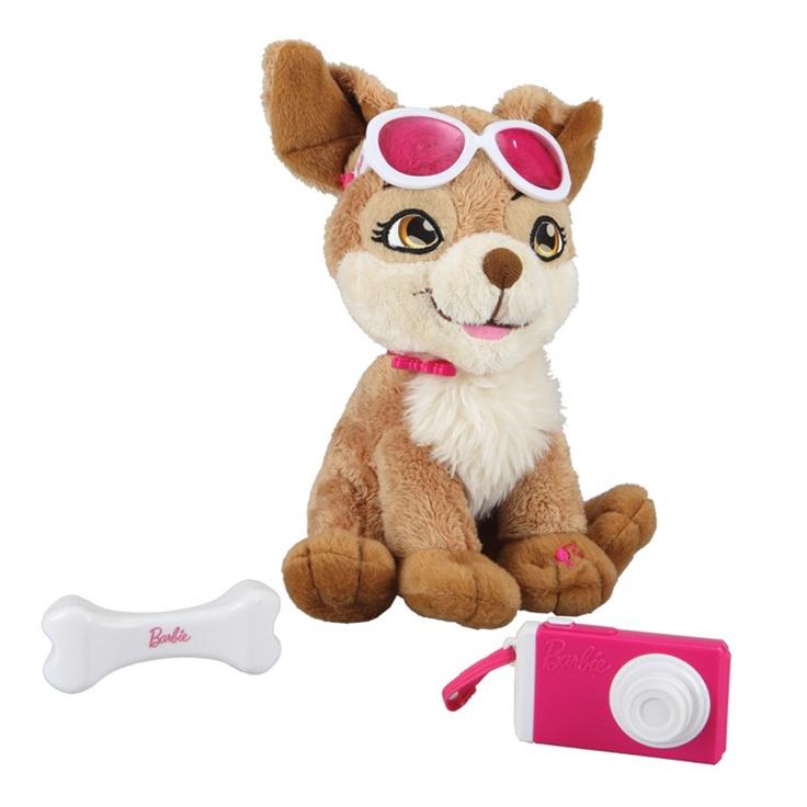 Barbie'nin minik dostları çok sevimli...Şirin köpek Lacey! Kemiğiyle oynamayı ve fotoğraf çekmeyi çok seviyor...Barbie'nin köpekleri ve kedisi Toyzz Shop oyuncak mağazalarında...