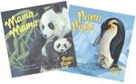 Mama Mama/Papa Papa Flip Board Book  by Jean Marzollo and illustrated by Laura Regan: Mama Papa Papa, Mama Mama Papa, Papa Flip