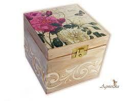 Resultado de imagem para cajas mdf pintadas