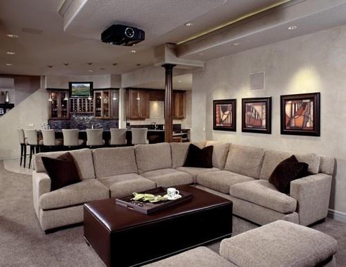 Basement Remodel Kansas City Custom Inspiration Design