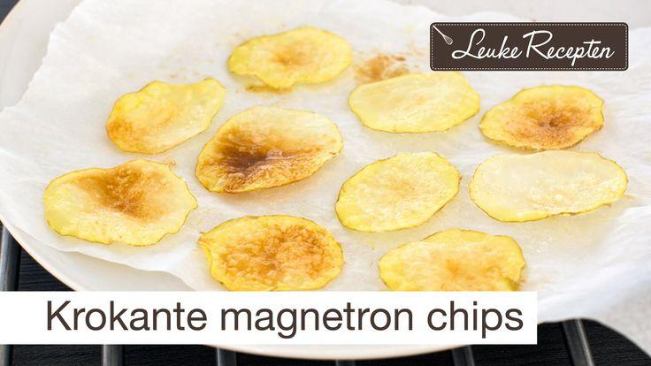 DIY krokante magnetron chips