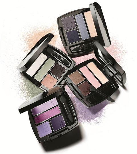 We love the True Color Eyeshadow Quads! The rich bold colors are crease-proof and the color-saturated shades designed for every skin tone. Our favorites for this season are Steel Blues, Mod Muse, Berry Love and Purple Pop.